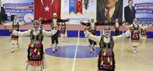 Karaman'da halk oyunları il birinciliği yarışması sona erdi