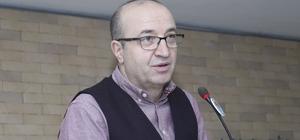 """Prof. Uzunoğlu'dan firmalara: """"Kur riski almayın, kredilerden uzak durun, güç birliği yapın"""" MTSO Ekonomi Danışmanı, Ekonomist Prof. Dr. Uzunoğlu, Türkiye'nin yeni bir ekonomik düzen içine girdiğini belirterek, firmalara uyarılarda bulundu Uzunoğlu: """"Bir araya gelip güç birliğine giderek ayakta kalmaya çalışacaksınız. Kredilerden kurtulmalıyız. Gerekirse az harcayalım ama bunu yapalım"""""""