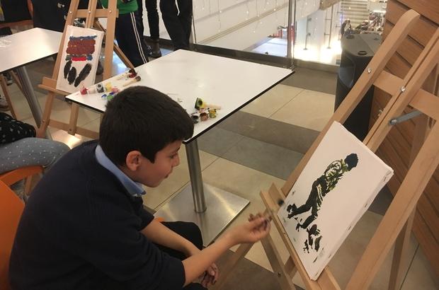 çanakkale şehitleri Haftasında Minik Sanatçılar Meysu Outlette
