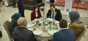 Erzincan'da şehit aileleri ve gaziler ile biraraya gelindi