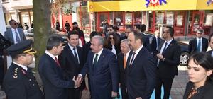 TBMM Başkanı Şentop, Edirne'de okul ve hastane açılışına katıldı