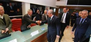 TBMM Başkanı Şentop, Uzunköprü'de STK temsilcileri ile buluştu