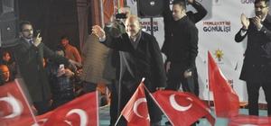 """İçişleri Bakanı Soylu Bitlis'te miting düzenledi Bakan Soylu: """"Uzun yıllar bu ülkeyi kumpasa getirdiler. Aynı zamanda terörizmle, PKK ile oyaladılar."""""""