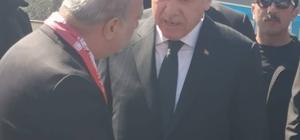 Cumhurbaşkanı Erdoğan'dan, Celil Uzun'a tam destek