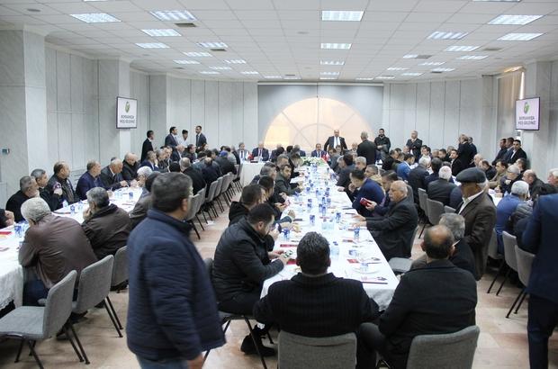Ak Parti Gaziantep milletvekili ve belediye başkanlarından GTB'YE ziyaret