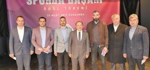 Trabzon'da başarılı sporcu ve spor kulüplerine 234 bin TL ödül verildi