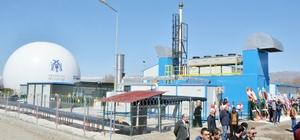 Erzincan'da çöp gazından, elektrik üretecek katı atık tesisi açıldı