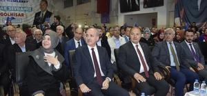 """AK Parti Genel Başkanvekili Kurtulmuş: """"Türkiye'nin hangi istikamette gideceğini de belirliyoruz"""" """"HDP, CHP, İP ve SP bir araya geldi. Hangi tutkal, yapıştırıcı birbirine benzemez bu dört partiyi bir araya getirir"""" """"Mertçe çık ortaya 'ittifak yapıyoruz' de"""""""