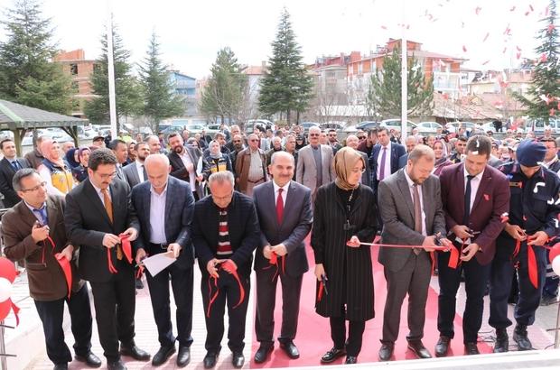 Beyşehir'de kurulan üçüncü 112 acil servis istasyonu açıldı
