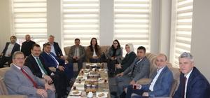 Ali İhsan Yavuz'dan Erenler'e Belediyesine ziyaret