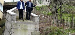 (Özel) CHP'li belediyenin yaptığı merdiven Karadeniz fıkralarını aratmıyor Sonu tamamlanmayan merdiven Karadeniz fıkralarını aratmıyor