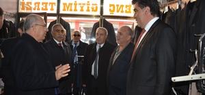 MHP Genel Başkan Yardımcısı Prof. Dr. Mevlüt Karakaya, Tercan'da esnafı ziyaret etti, Başkan Yılmaz'a destek istedi
