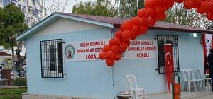 Didim Belediyesi, Romanlara yeni dernek binası kazandırdı