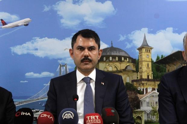 """Çevre ve Şehircilik Bakanı Murat Kurum: """" Malatya'da merkez üssü Hakverdi olan 4.1 büyüklüğünde ilk belirlemelere göre önemli bir hasarımız yok gözüküyor"""" """"Bakanlık olarak biz yılda yaklaşık 30 bin-40 bin arasında binanın dönüşümünü yapacağız"""" """"TOKİ ile yapmış olduğumuz indirim kampanyası bugün itibari ile başlıyor"""""""