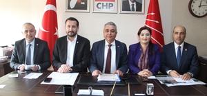 CHP milletvekillerinden Aydın'a çıkarma