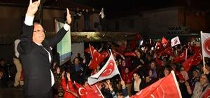 """Başkan Kayda: """"Biz Salihli halkı ile yürürüz"""""""