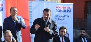 """Gürkan'dan 31 Mart vurgusu AK Pati Malatya Büyükşehir Belediye Başkan Adayı Selahattin Gürkan: """"31 Mart seçimlerinden güçlü bir şekilde çıkmak zorundayız"""""""