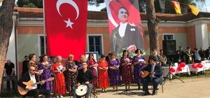 Birgi Kadınlar Korosu Nevruz etkinliğine renk kattı