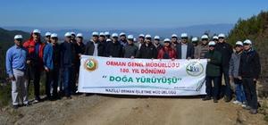 OGM 180. Yıl Yürüyüşü Bozdoğan'da yapıldı