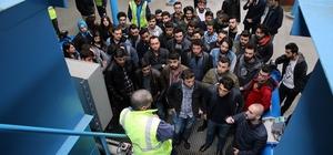 Öğrenciler SASKİ tesislerini gezdi