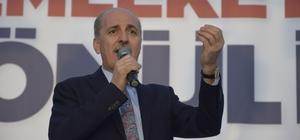"""AK Parti Genel Başkanvekili Kurtulmuş: """"31 Mart'ta bu densizlere haddini bildireceğiz"""""""