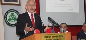 """CHP Genel Başkanı Kılıçdaroğlu: """"Tükiye'nin en önemli sorunu üretememek"""" CHP Genel Başkanı Kemal Kılıçdaroğlu: """"Üretimi sürdüremezsek beka sorunu ortaya çıkar; Bir ülkenin beka sorunu geleceği planlayamamaktır"""""""