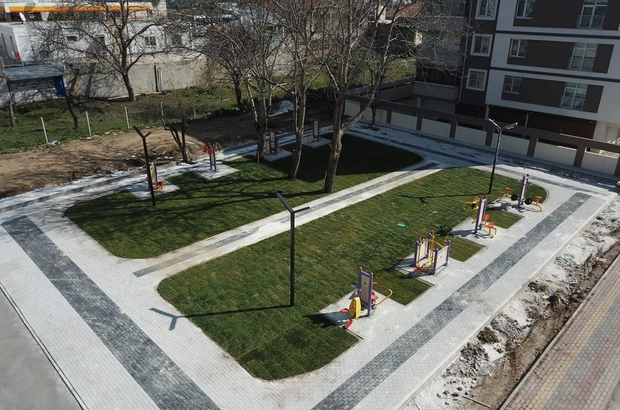 Yeni Mahalle'de park alanlarına yenileri ekleniyor
