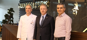 Vali Gül'den Medical Park Gaziantep Hastanesine ziyaret