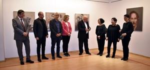 """SANKO sanat galerisinde sergi Sema Barlas """"Suretler"""" temalı 16'ncı kişisel sergisini açtı"""