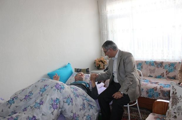 Kaymakam Yavuz'dan yaşlılara ziyaret