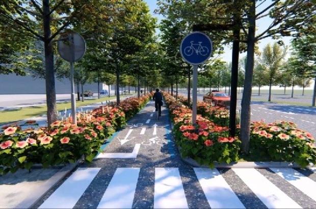Başkan Can, Bisiklet Yolu projesi hakkında bilgi verdi