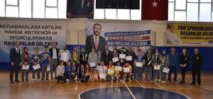 Okul Sporları Badminton Yıldızlar İl Birinciliği müsabakaları sona erdi