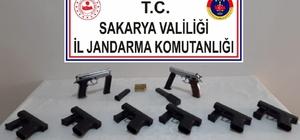 Akyazı'da silah operasyonu :1 gözaltı