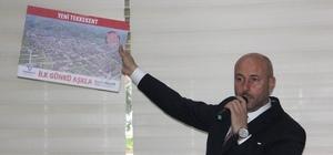 """Togar hedef büyüttü Başkan Togar: """"3 yıl içerisinde süper lige çıkmış bir Tekkeköy ilçesi hedefliyoruz"""""""