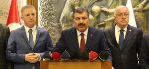"""Sağlık Bakanı Koca'dan Hepatit B ve Polio açıklaması Koca, """"Bizim ne Hepatit B ne de Polio aşılarında herhangi bir sorunumuz yok"""" """"Kuduz ve benzeri antiserumları da yerlileştireceğiz"""""""