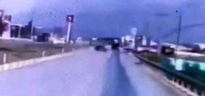 Üç komando askerin şehit olduğu kaza, güvenlik kamerasında