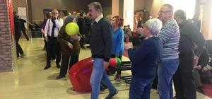 Emekliler Bowlingde stres attı