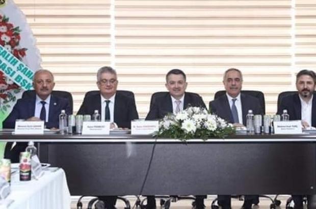 Ziraat Odası Başkanı Şahan, Bakan Pakdemirli'nin gelişini değerlendirdi
