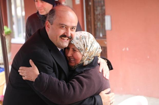 """AK Parti Bolu Belediye Başkan Adayı Fatih Metin: """"Bölücülere karşı bir ve beraber olacağız"""""""