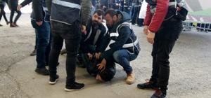 HDP mitinginde Öcalan lehine slogan atan 8 kişi gözaltına alındı