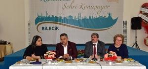 """Bu kez kadınlar Bilecik için konuştu Bilecik'te """"Kadınlar Şehri Konuşuyor"""" programı düzenlendi"""