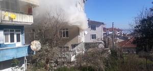 Çakmakla oynayan 4 yaşındaki çocuk evi yakıyordu