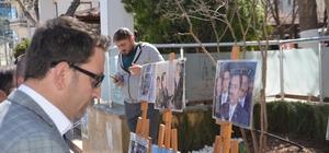 """Muhsin Yazıcıoğlu anısına resim sergisi açıldı Alperen Ocakları İl Başkan Yardımcısı Muhsin Yıldırım; """"Onsuz geçen 10 yıl içimizdeki ateş ilk günkü gibi"""""""