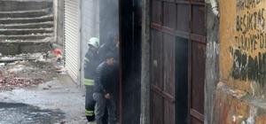 Diyarbakır'da boya deposunda yangın