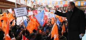 AK Parti Erzurum Milletvekili Akdağ ilçe ilçe geziyor
