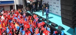 """Bakan Soylu, millet ittifakına yüklendi İçişleri Bakanı Süleyman Soylu: """"Tayyip Erdoğan'ın ayağına şu topu verinde şu zillet ittifakının, Kılıçdaroğlu'nun kalesinin doksanına bir çaksın"""" """"Kılıçdaroğlu'dan, İYİ Parti Başkanı çakma milliyetçi Meral Akşener'den 'Kürdistan neresiymiş ey edepsiz' diye bir söz duydunuz mu?"""" """"PKK'yı tekrar şehirlerimize bulaştırmaya çalışacaklar, müsaade etmeyin"""""""