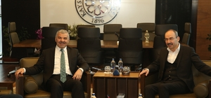 Başkan Çelik iş alemini ziyaret etti