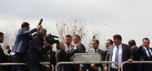 İYİ Parti Tomarza İlçe Yönetimi istifa ederek Cumhur İttifakı'na katıldı