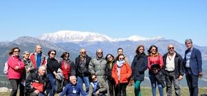 BAKA Turizm profesyonellerini Burdur'a getirdi. Profesyonellere Burdur tanıtımı