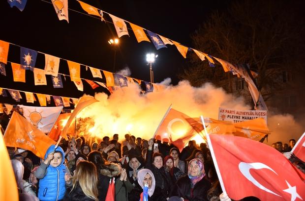 Pamukçu 'Cumhur' dedi Başkan Avcı'ya Pamukçu'da büyük destek